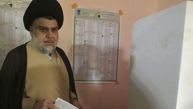 El clérigo Al Sadr lidera en las parlamentarias de Irak y hace saltar las alarmas en EE.UU.