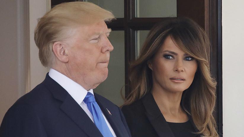 Trump revela cómo se encuentra su esposa tras su operación de riñón de este lunes