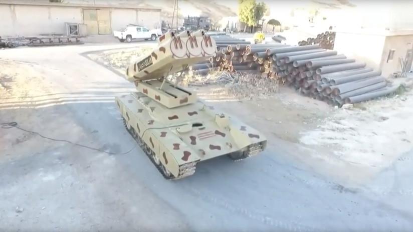 VIDEO, FOTOS: Así es el 'monstruo lanzamisiles' del Ejército sirio