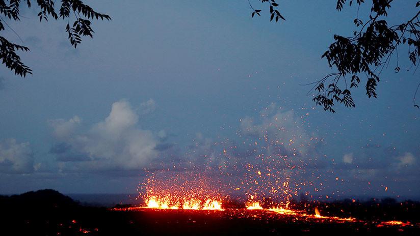 """Alertan de la """"inminente"""" erupción del volcán Kilauea en Hawái"""