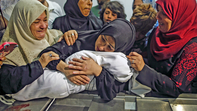 FOTOS 18+: Una bebé de ocho meses, la víctima más pequeña del Ejército de Israel en Gaza