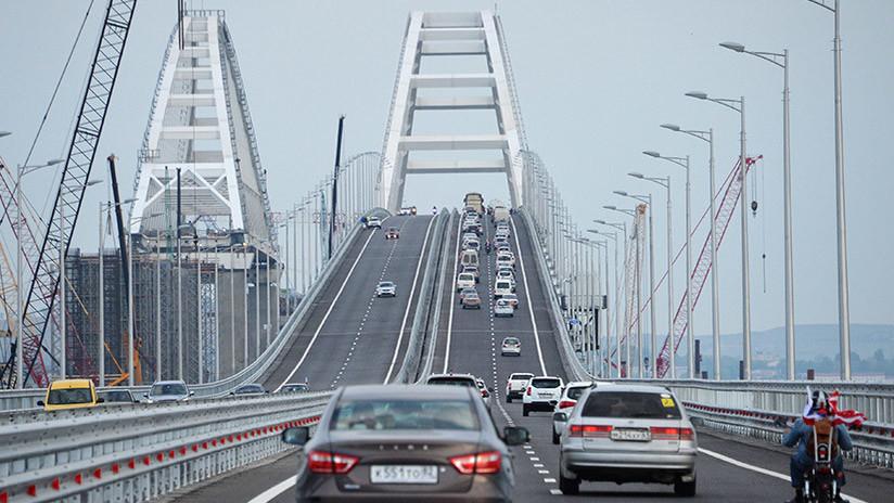 Un diario estadounidense insta a que Ucrania bombardee el puente de Crimea