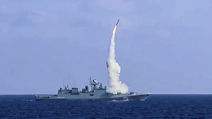 Buques con misiles de crucero Kalibr protegerán el Mediterráneo