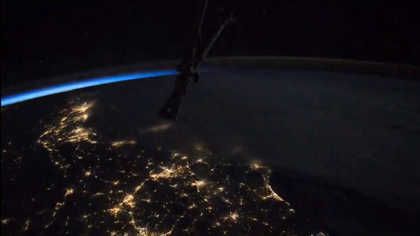 VIDEO: Astronauta inmortaliza la belleza de los relámpagos de México a Nueva York