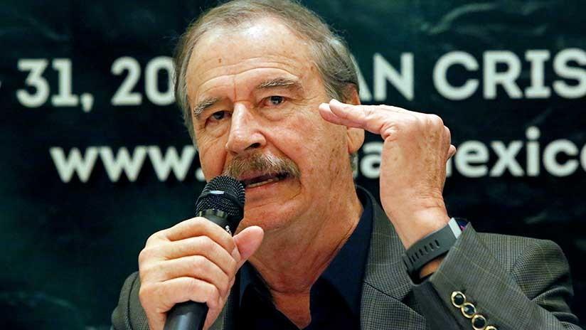 México: Vicente Fox respalda al candidato presidencial del PRI y pide no votar por López Obrador