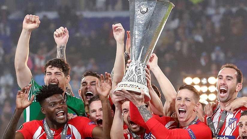 El Atlético de Madrid gana la Europa League de la UEFA