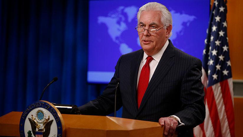 """¿Crítica a Trump?:  Rex Tillerson advierte de la """"creciente crisis de ética e integridad"""" en EE.UU."""