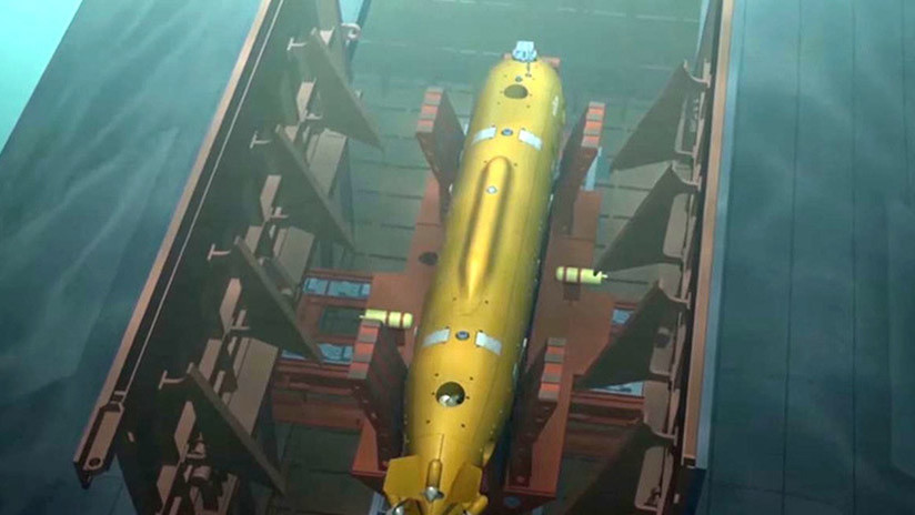 Los drones subacuáticos rusos Poseidón podrían portar una ojiva de dos megatones