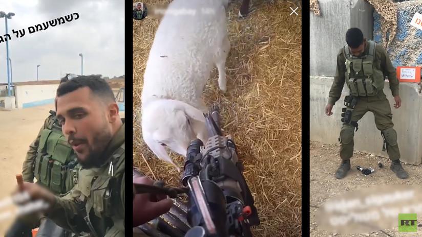 VIDEO: Militares israelíes se divierten en plena masacre de palestinos y suben los videos a la Red