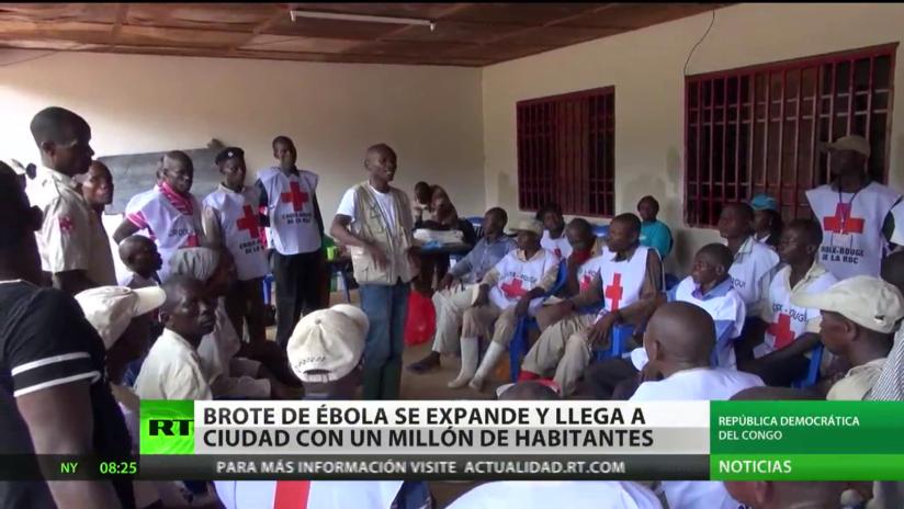 El brote de ébola se expande y llega a una ciudad de cerca de un millón de habitantes