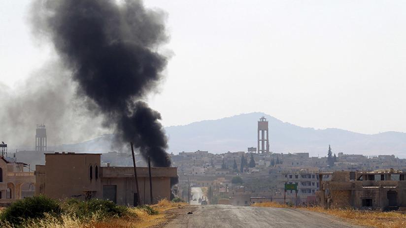 VIDEO, FOTOS: Al menos once muertos tras una serie de explosiones en el aeropuerto de Hama en Siria