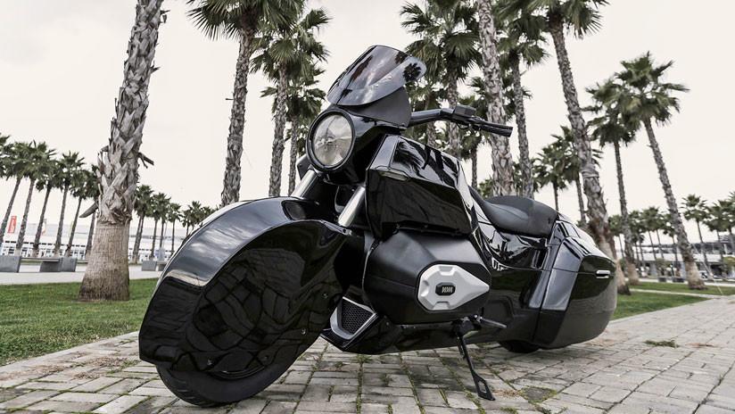 Rusia desarrolla una espectacular moto de escolta (FOTOS)