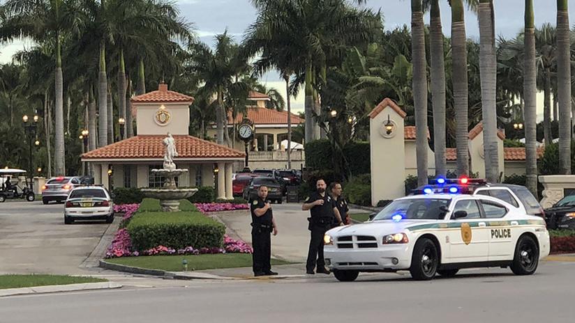 EE.UU.: Abren fuego en un club de golf de Trump en Florida