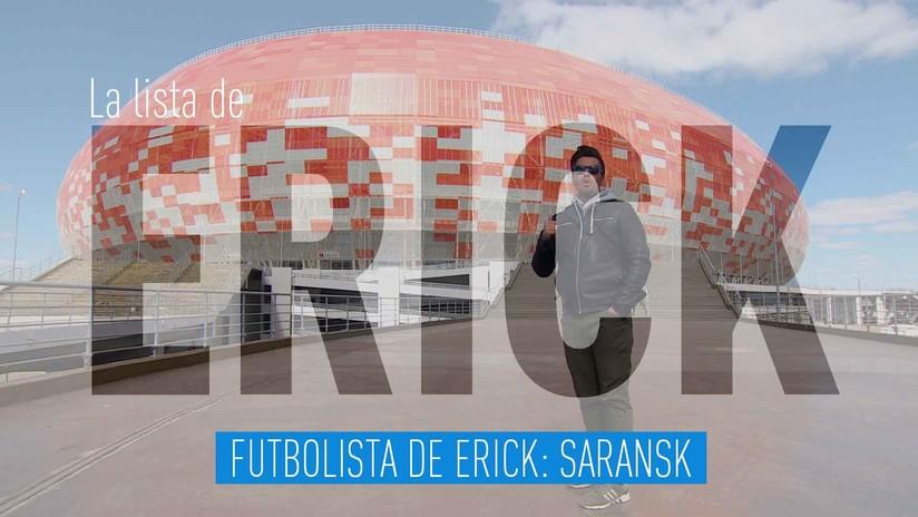 Futbolista de Erick: Saransk