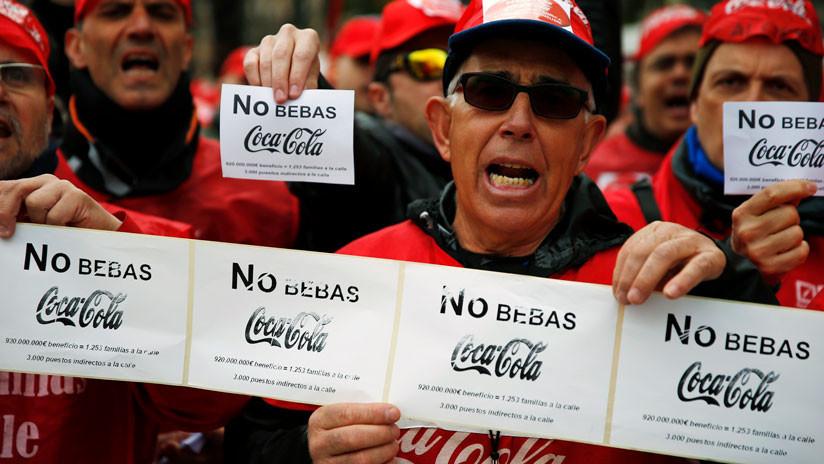 Despidos, 'espartanos' y sentencias judiciales: la lucha de los trabajadores de Coca-Cola en España
