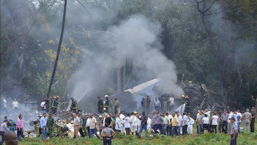 PRIMERAS IMÁGENES: El lugar del siniestro del Boeing 737 en Cuba