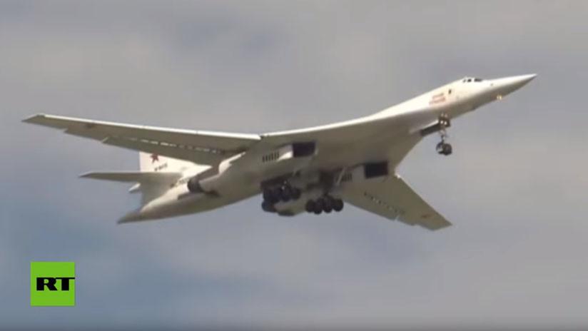 VIDEO: Cazas de EE.UU. escoltan bombarderos rusos sobre el Pacífico
