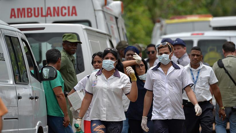 Al menos tres pasajeros sobrevivieron al accidente aéreo en Cuba