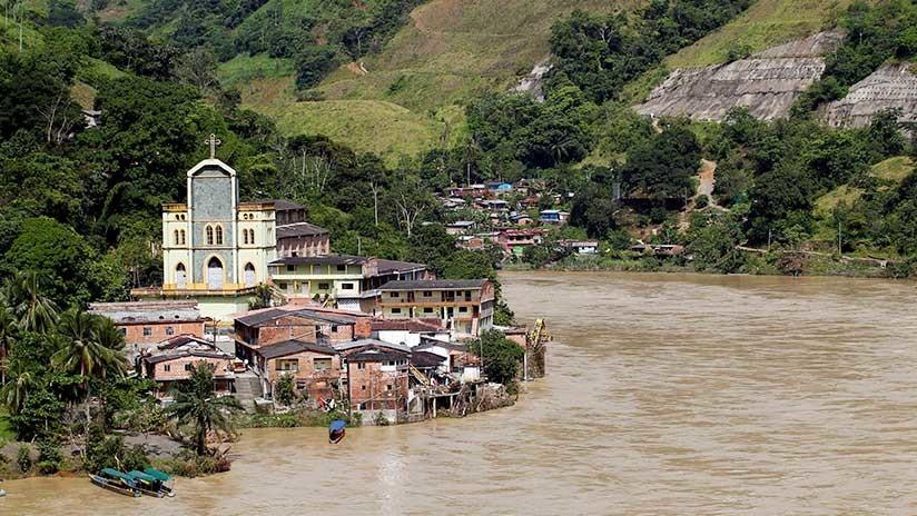 VIDEO, FOTOS: La mayor hidroeléctrica de Colombia está en inminiente riesgo de colapso