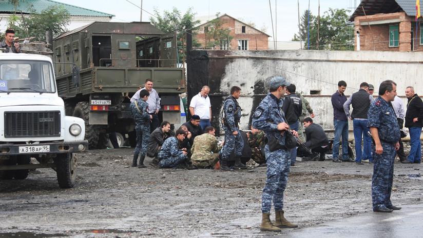 Dos policías y un civil muertos tras el ataque de milicianos contra una iglesia en Chechenia
