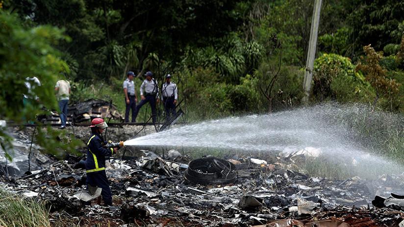 """Hallan una de las cajas negras """"en buenas condiciones"""" del avión siniestrado en Cuba"""