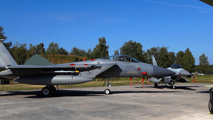 ¿Podría un viejo caza F-15 estadounidense vencer a un novedoso Su-57 ruso con este 'arma' secreta?