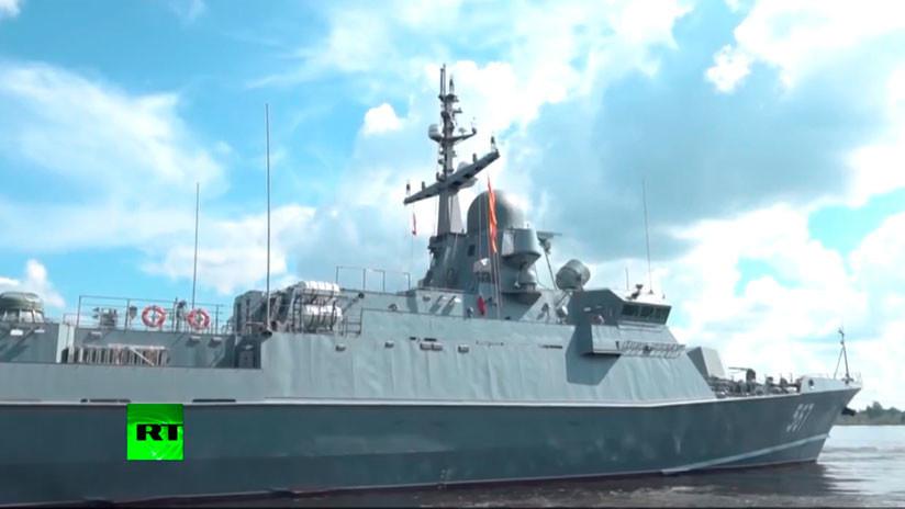 VIDEO: Rusia prueba el lanzacohetes Uragán con misiles de alta precisión Kalibr