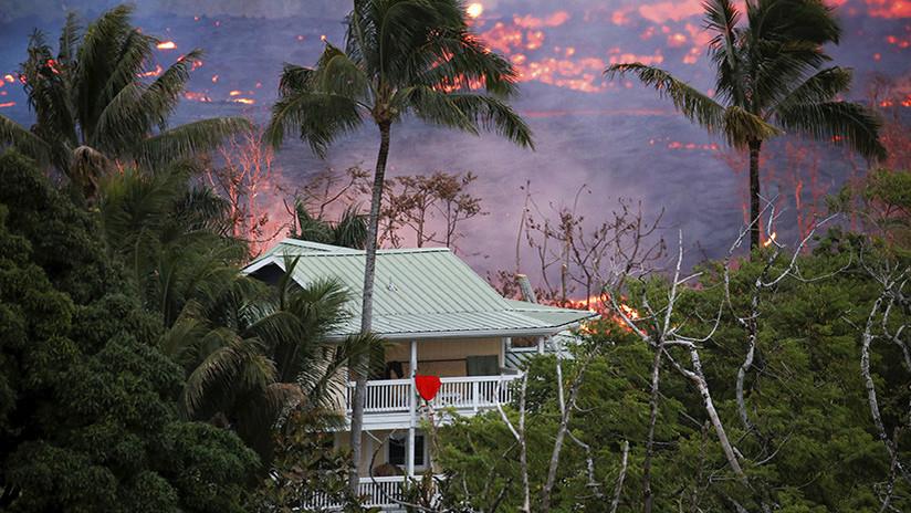 La erupción del volcán Kilauea en Hawái deja el primer herido
