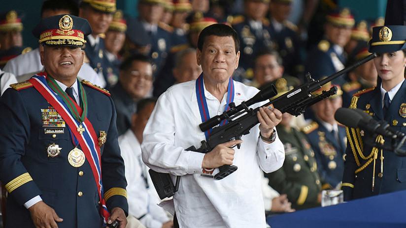 Duterte: Filipinas no se opondrá a la actividad de Pekín en el mar de la China Meridional