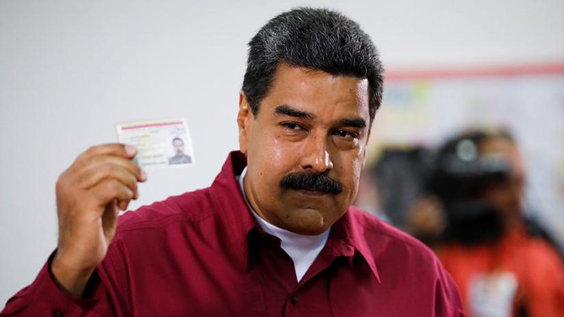 """Nicolás Maduro: """"He sido el primer votante de la patria"""""""