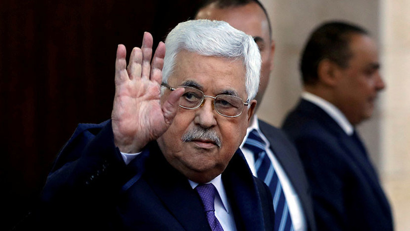 Hospitalizan al presidente de Palestina por tercera vez en una semana