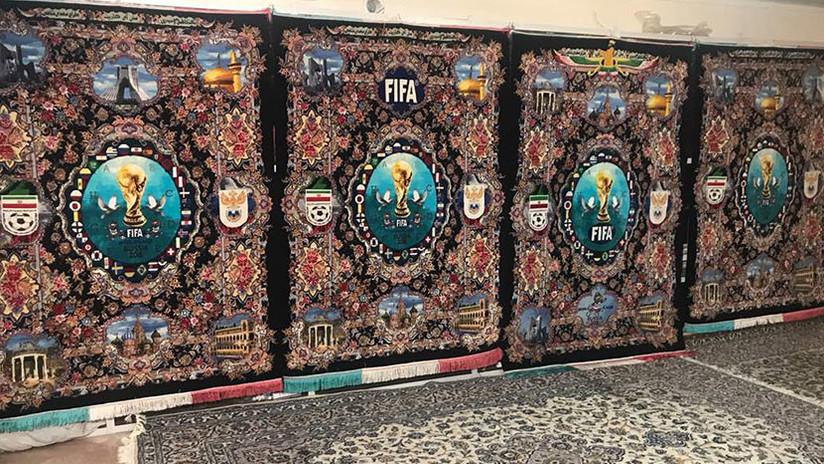 VIDEO: En Irán inmortalizan el Mundial de Rusia 2018 con las famosas alfombras persas