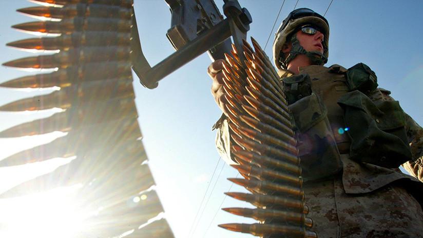 Granadas y una ametralladora: Desaparece armamento de una base aérea de EE.UU.
