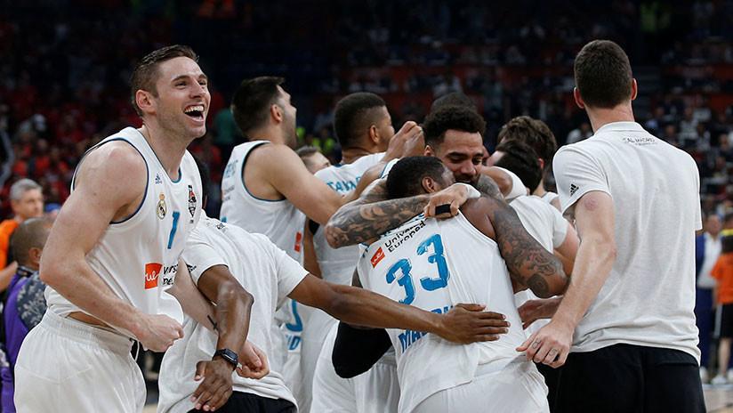 El Real Madrid gana su décima Euroliga tras vencer al Fenerbahce turco