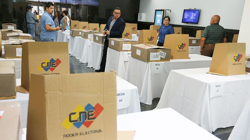 El CNE de Venezuela anuncia primeros resultados parciales de las elecciones presidenciales