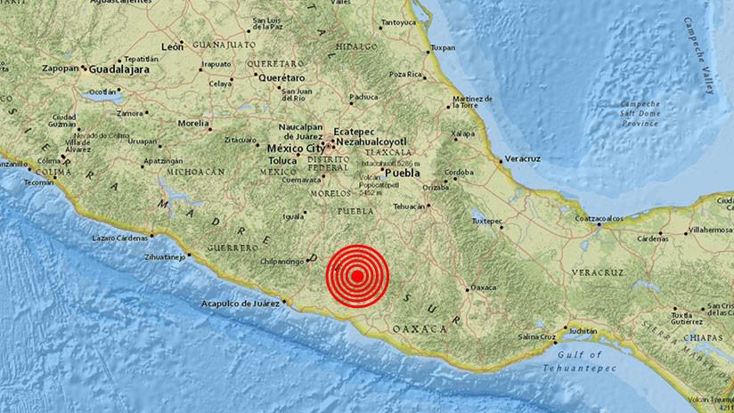 México: Se registra un sismo de magnitud 5,1 en el estado de Guerrero