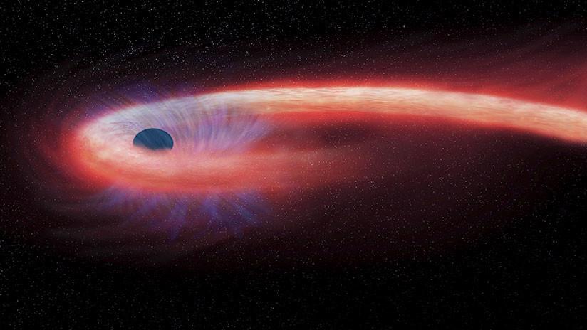 """Descubren un """"monstruoso"""" agujero negro del tamaño de 20.000 millones de soles"""