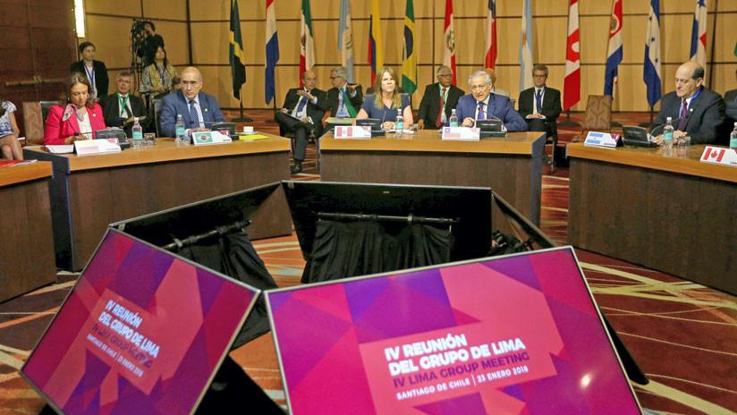 Países del Grupo de Lima llaman a consultas a sus embajadores en Venezuela tras las elecciones