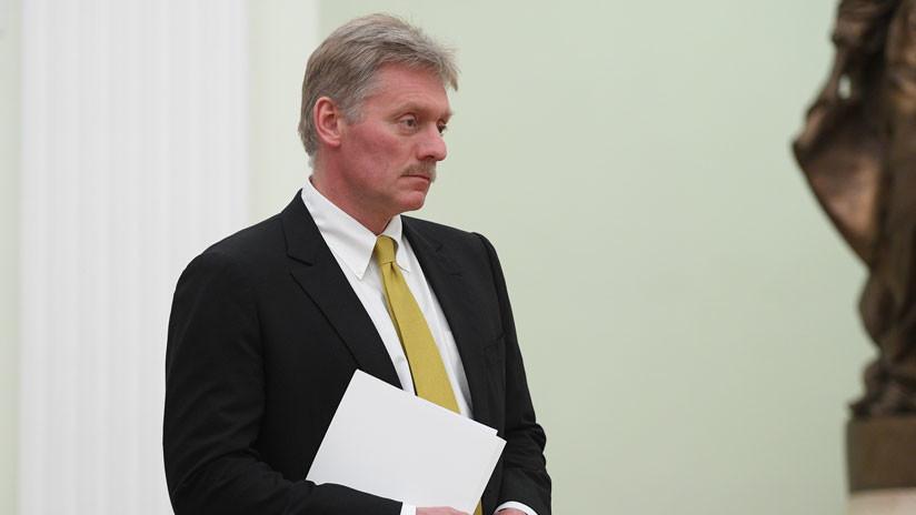 """Kremlin: El Reino Unido provocó la """"manía de rusofobia"""" con el caso Skripal"""