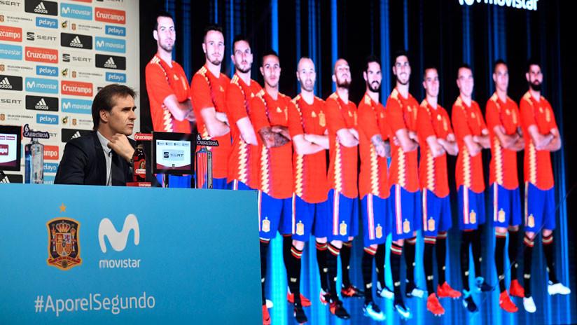 España revela la lista de los 23 futbolistas convocados para Rusia 2018