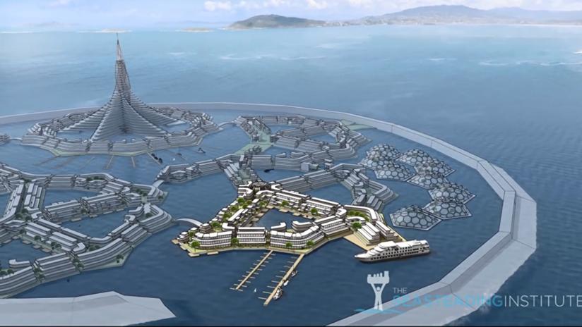 El Pacífico verá pronto su primera 'nación flotante' con su propio gobierno y criptomoneda (VIDEO)
