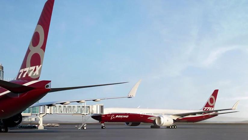 Del uso militar al comercial: el Boeing 777X será el primer avión de pasajeros con alas plegables