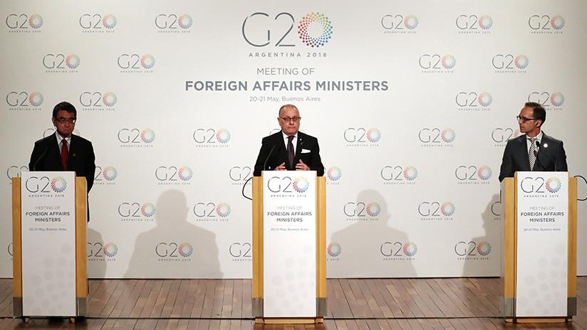 Más presiones: Países del G-20 cuelan a Venezuela en su agenda 'extraoficial'