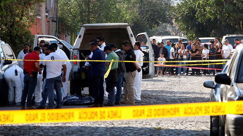 VIDEOS, FOTOS: Balacera en la ciudad mexicana de Guadalajara deja cuatro heridos