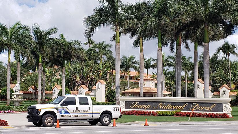 Publican imágenes del tiroteo en el club de golf de Trump en Florida (VIDEO)