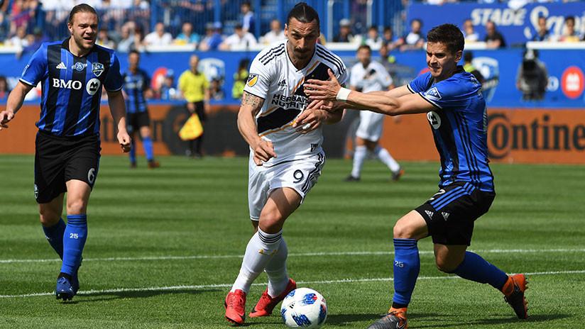 VIDEO: Ibrahimovic asesta un manotazo a un rival y recibe su primera expulsión de la MLS
