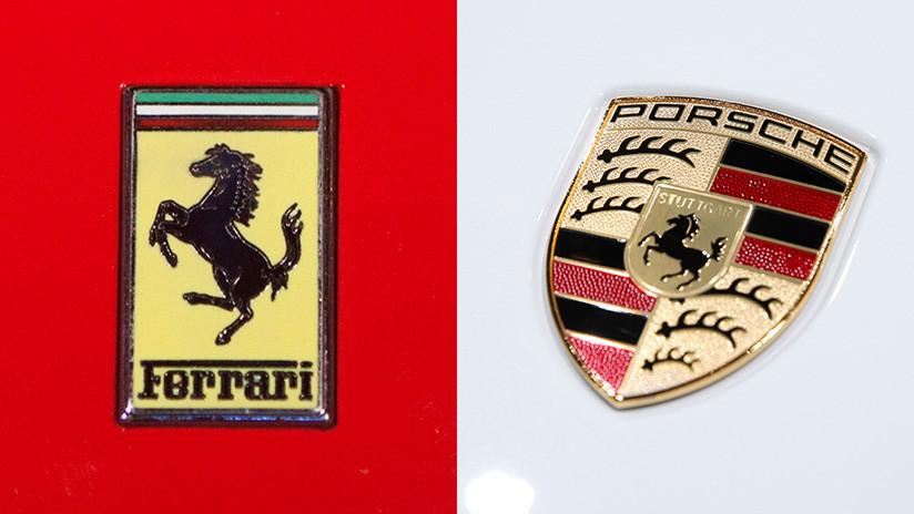 Accidente de 334.000 dólares: un Ferrari y un Porsche chocan en el Reino Unido (FOTO)