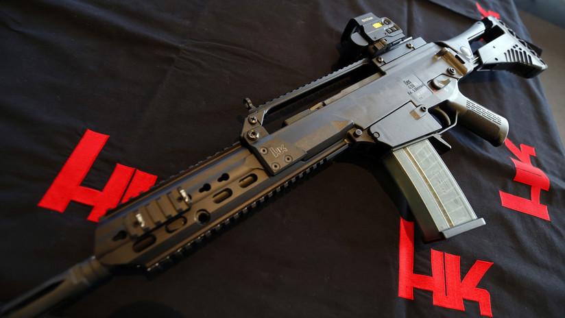 El fabricante de armas alemán Heckler & Koch, acusado de corrupción y exportación ilegal a México