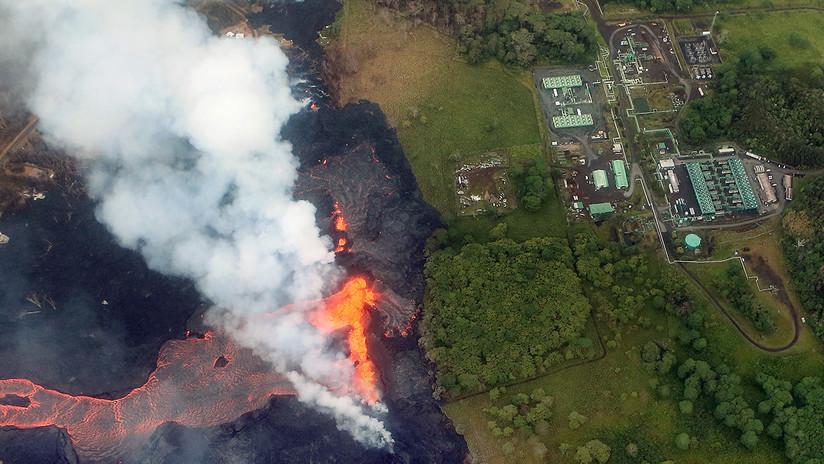 Riesgo de fuga altamente tóxica: la lava llega a las puertas de la planta geotérmica de Hawái
