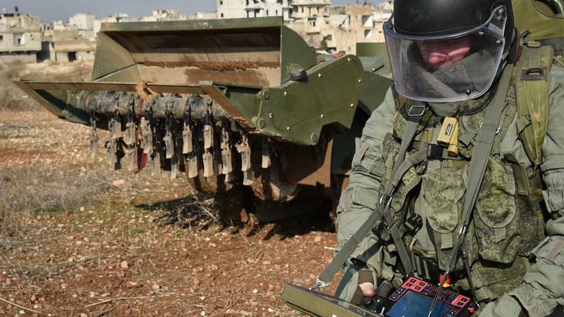 FOTOS: Robots probados en Siria entrarán en servicio en el Ejército ruso este año